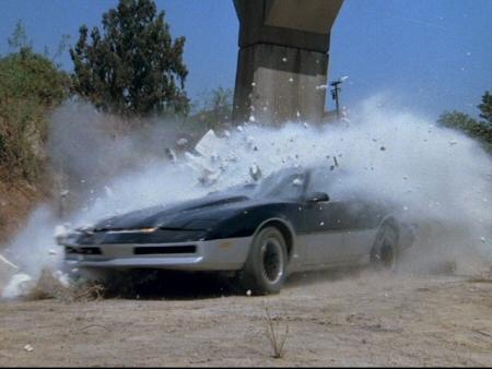 Knight Rider Archives: K I T T  Vs  K A R R  (1984)