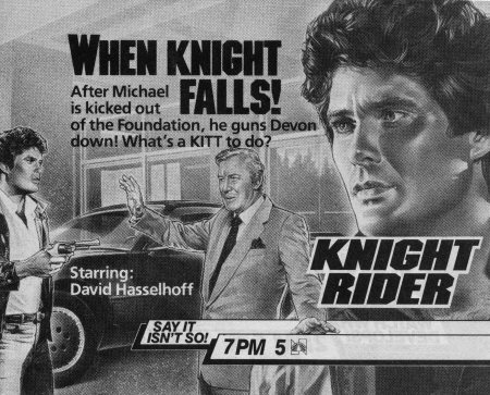 Knight Rider Archives: Knight In Disgrace (1984)