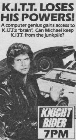 Knight Rider Archives Soul Survivor 1983