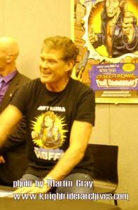 David Hasselhoff at London Film & Comic Con