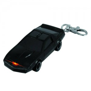 Knight Rider K.I.T.T. Light-Up Key Chain: