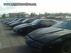 Knight Rider Replicas at KnightCon