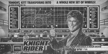 Knight of the Juggernaut TV Guide ad