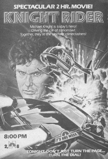 Knight Rider TV Guide Ad, September 26, 1982