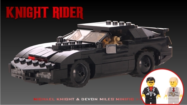 vote for knight rider at lego cuusoo knight rider. Black Bedroom Furniture Sets. Home Design Ideas