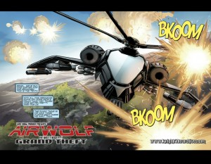 Airwolf #1 Panel