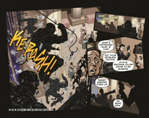 Knight Rider #1 Panels