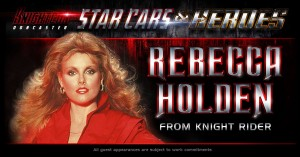 Knightcon Star Cars & Heroes announce Rebecca Holden as their first guest for 2014