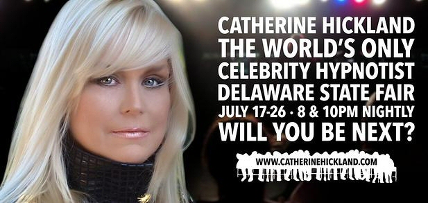 Catherine Hickland - The World's Only Celebrity Hypnotist